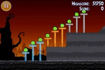 Angry Birds Seasons Trick or Treat Level 1-2 Walkthrough