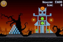 Angry Birds Seasons Trick or Treat Level 1-3 Walkthrough