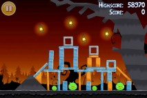 Angry Birds Seasons Trick or Treat Level 1-4 Walkthrough