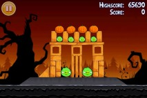 Angry Birds Seasons Trick or Treat Level 1-5 Walkthrough