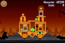 Angry Birds Seasons Trick or Treat Level 1-6 Walkthrough