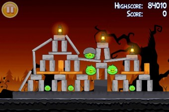 Angry Birds Seasons Trick or Treat Level 1-7 Walkthrough