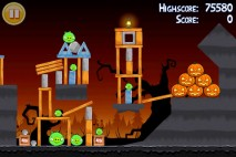 Angry Birds Seasons Trick or Treat Level 1-9 Walkthrough