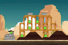 Angry Birds Ham Em High Level 12-1