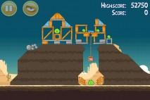 Angry Birds Mighty Eagle Total Destruction Walkthrough Level 12-3