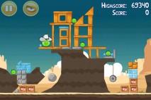 Angry Birds Mighty Eagle Total Destruction Walkthrough Level 12-7