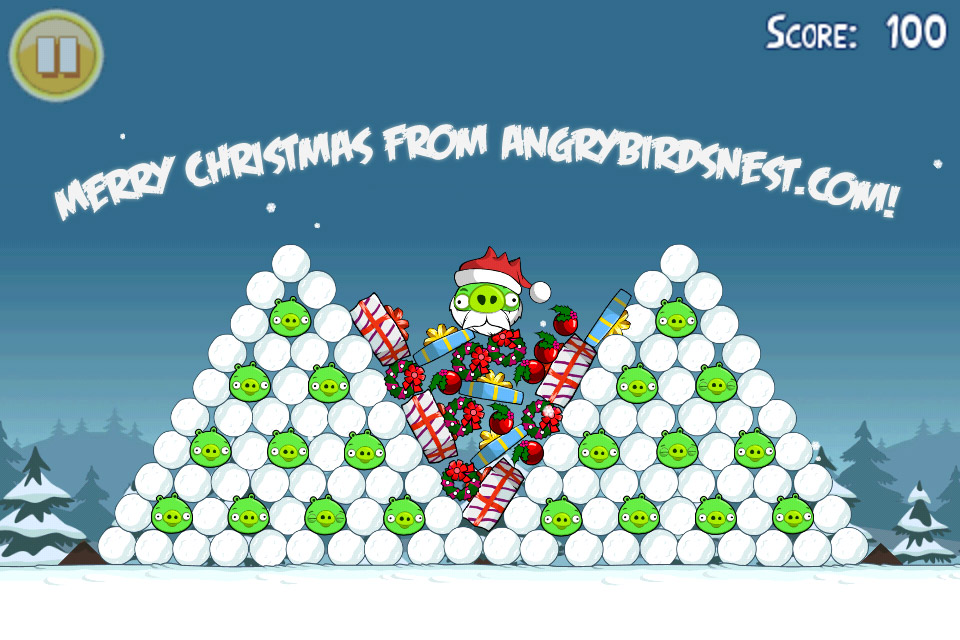 Angry Birds Seasons: Christmas 3 Star Walkthrough Level 1-25 ...