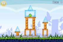 Angry Birds Free 3 Star Walkthrough Level 1-1