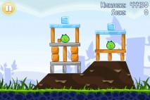 Angry Birds Free 3 Star Walkthrough Level 1-2