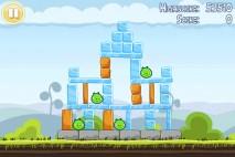 Angry Birds Free 3 Star Walkthrough Level 4-1