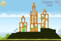 Angry Birds Free 3 Star Walkthrough Level 4-2