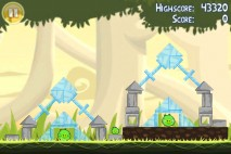 Angry Birds Free 3 Star Walkthrough Level 6-1