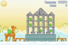 Angry Birds Free 3 Star Walkthrough Level 7-1