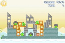 Angry Birds Free 3 Star Walkthrough Level 7-2