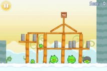 Angry Birds Free 3 Star Walkthrough Level 7-3
