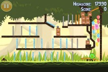 Angry Birds Golden Egg Star Walkthrough Level 10