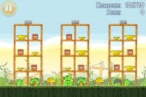 Angry Birds Golden Egg Star Walkthrough Level 14