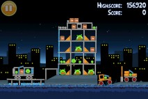 Angry Birds Golden Egg Star Walkthrough Level 16