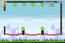 Angry Birds Golden Egg Star Walkthrough Level 2