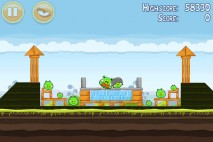 Angry Birds Mighty Eagle Total Destruction Walkthrough Level 4-2