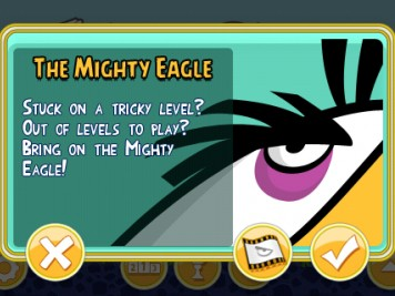 Angry Birds Purchase the Mighty Eagle