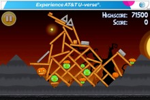Angry Birds Seasons Free Trick or Treat Level 1-1