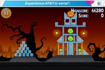 Angry Birds Seasons Free Trick or Treat Level 1-2
