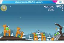Angry Birds Seasons Free Xmas Level 1-1