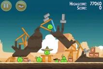 Angry Birds Mighty Eagle Total Destruction Walkthrough Level 13-3