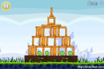 Angry Birds Lite 3 Star Walkthrough Level 1-10 (iOS)