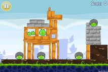 Angry Birds Lite 3 Star Walkthrough Level 1-11 (iOS)