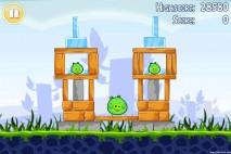 Angry Birds Lite 3 Star Walkthrough Level 1-3 (iOS)