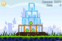 Angry Birds Lite 3 Star Walkthrough Level 1-4 (iOS)