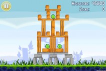Angry Birds Lite 3 Star Walkthrough Level 1-5 (iOS)