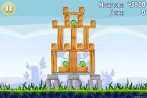 Angry Birds Lite 3 Star Walkthrough Level 1-5 (iOS)