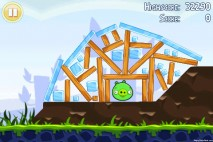 Angry Birds Lite 3 Star Walkthrough Level 1-6 (iOS)
