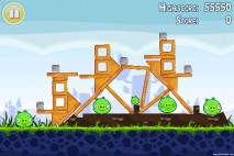 Angry Birds Lite 3 Star Walkthrough Level 1-7 (iOS)
