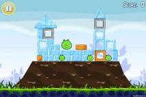 Angry Birds Lite 3 Star Walkthrough Level 1-8 (iOS)