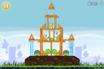 Angry Birds Lite 3 Star Walkthrough Level 1-9 (iOS)