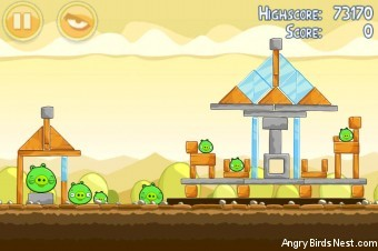 Angry Birds Mighty Eagle Total Destruction Walkthrough Level 5-9