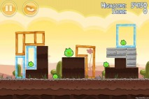 Angry Birds Mighty Eagle Total Destruction Walkthrough Level 3-14