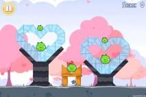 Angry Birds Seasons Hogs And Kisses 3 Star Walkthrough Level 1