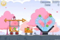 Angry Birds Seasons Hogs And Kisses 3 Star Walkthrough Level 10