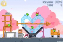 Angry Birds Seasons Hogs And Kisses 3 Star Walkthrough Level 11