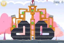 Angry Birds Seasons Hogs And Kisses 3 Star Walkthrough Level 2-3