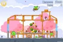 Angry Birds Seasons Hogs And Kisses 3 Star Walkthrough Level 2