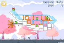 Angry Birds Seasons Hogs And Kisses 3 Star Walkthrough Level 3