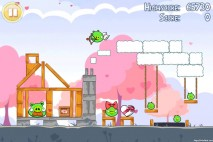 Angry Birds Seasons Hogs And Kisses 3 Star Walkthrough Level 6