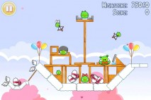 Angry Birds Seasons Hogs And Kisses 3 Star Walkthrough Level 7