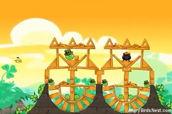 Angry Birds Seasons Go Green, Get Lucky Screen 3
